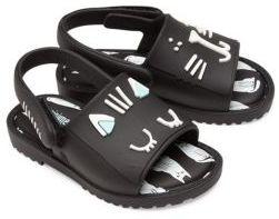 Mini Melissa Baby's, Toddler's & Kid's Mia Fabula Printed Sandals $65 thestylecure.com