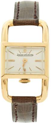 Jaeger-LeCoultre Etrier yellow gold watch