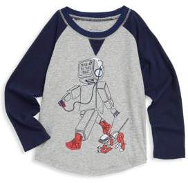 Egg Baby Baby's, Toddler& Little Boy's Asher Robot Cotton Top
