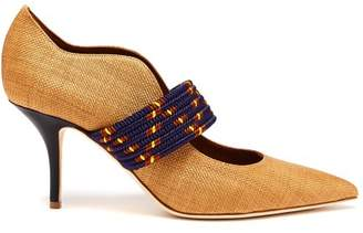 Malone Souliers Mannie Woven Pumps - Womens - Tan Multi