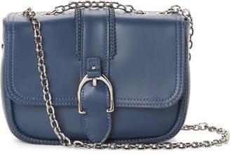 Longchamp Blue Amazone Convertible Leather Mini Crossbody