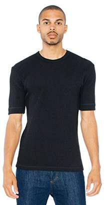 American Apparel Men's Waffle Thermal Truck T-Shirt