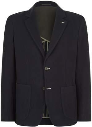 Johnstons of Elgin Contrast Stitching Jacket