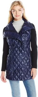 Calvin Klein Women's Down Filled Asymetric Walker Coat