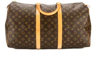 Louis Vuitton Monogram Canvas Keepall 50 Bag (Pre Owned)