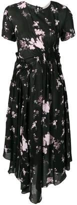 Preen Line wild flower print dress