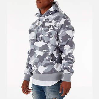 Champion Men's Super Hood Camo Fleece Hoodie