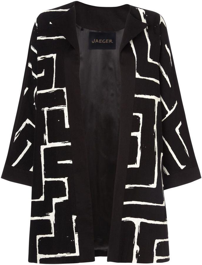 Jaeger Zig Zag Coat