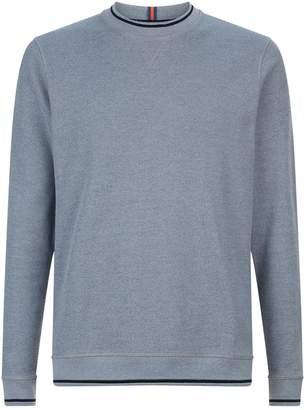 Ted Baker Thersty Stripe Trim Sweatshirt