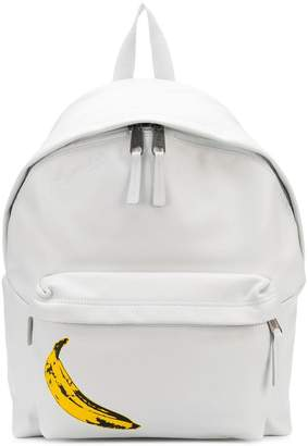 Eastpak banana print backpack
