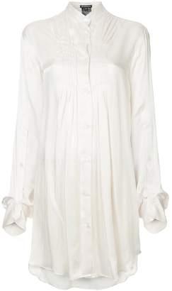 Ann Demeulemeester long line shirt