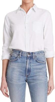 Citizens of Humanity Sofia Slim Classic Button-Front Denim Shirt