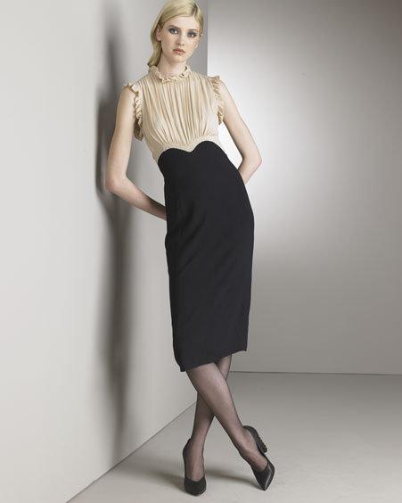 Derek Lam Colorblock Sheath Dress