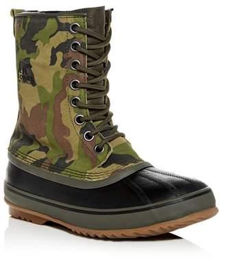 Sorel Men's 1964 Premium T Camo Print Nubuck Leather Cold-Weather Boots