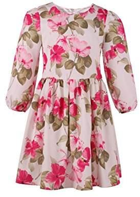 Emma Riley Girl's Long Sleeve Casual Dresses