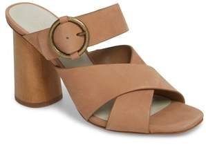 1 STATE 1.STATE Icendra Flared Heel Mule Sandal