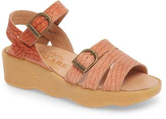 Famolare Honeybuckle Wedge Sandal