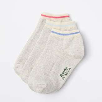 Roots Kids Cabin Ped Sock 3 Pack