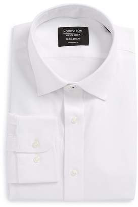 Nordstrom Tech-Smart Traditional Fit Stretch Solid Dress Shirt