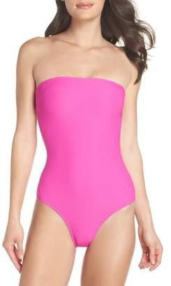 Billabong Tanlines Strapless One-Piece Swimsuit