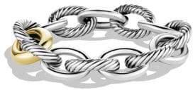 David Yurman Oval Extra-Large Link Bracelet with Gold