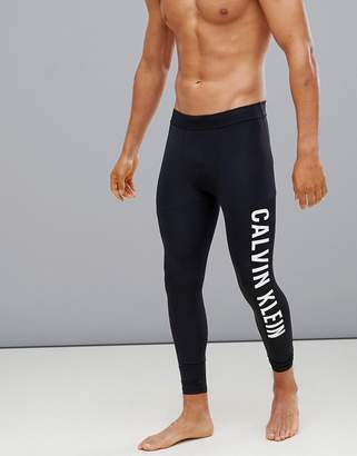e1d4edf1c Calvin Klein logo compression tights