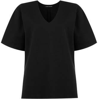 Gloria Coelho bell sleeves blouse