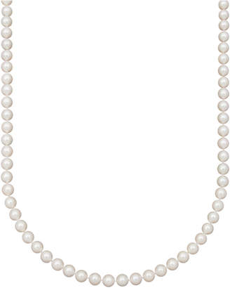 """Belle de Mer Pearl Necklace, 16"""" 14k Gold Aa Akoya Cultured Pearl Strand (7-7-1/2mm)"""