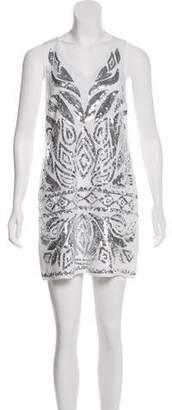 Calypso Sequin Linen Dress