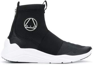McQ running sock sneakers
