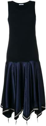 J.W.Anderson sleeveless flared midi dress