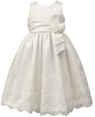 Jayne Copeland Rose Bow & Lace Dress