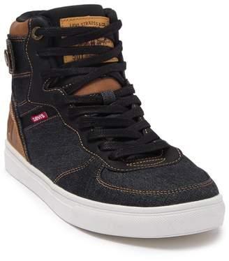 Levi's Jeffrey Hi 501 Denim High-Top Sneaker