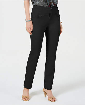 Style&Co. Style & Co Straight-Leg Pants, Created for Macy's