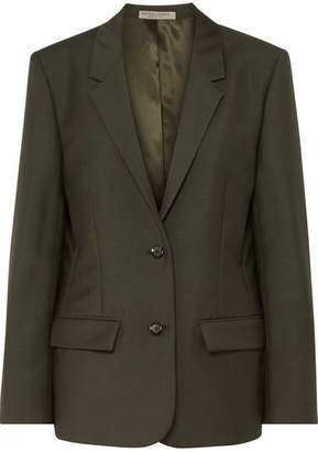 Bottega Veneta Mohair And Wool-blend Blazer - Green