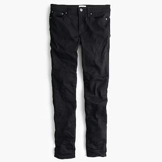 """J.Crew Tall 8"""" toothpick jean in black"""