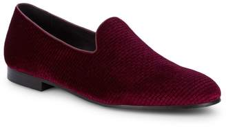 Saks Fifth Avenue Reardon Velvet Loafers