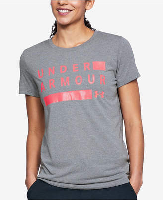 Under Armour Threadborne Logo Training T-Shirt