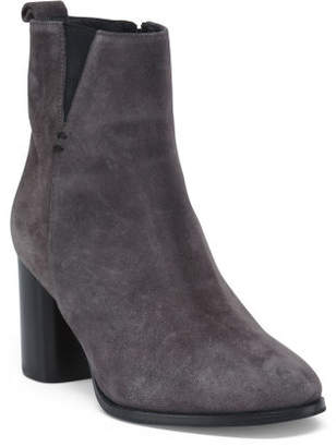 Made In Italy Suede Chelsea Boots