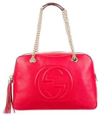 e5ee5f47aa6 Gucci Soho Shoulder Bag - ShopStyle Canada