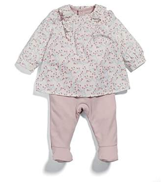 Mamas and Papas Baby Girls' Mock Blouse All in One Sleepsuits,3-6 Months