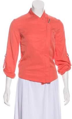 Barneys New York Barney's New York Zip-Up Long Sleeve Jacket