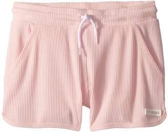 Converse 2X2 Drapey Rib Shorts Girl's Shorts