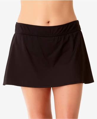 Anne Cole Plus Size Basic Swim Skirt Women's Swimsuit