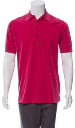 Tomas Maier Distressed Polo Shirt w/ Tags