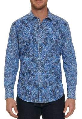 Robert Graham Hutchinson Print Button-Down Shirt