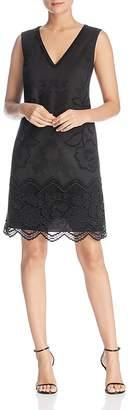 Kobi Halperin Camryn Embroidered Shift Dress