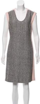 Diane von Furstenberg Sleeveless Woven Knee-Length Dress