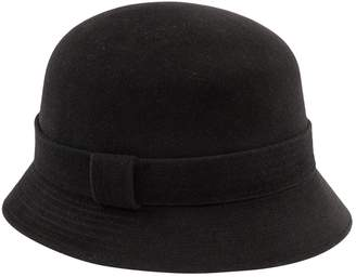 Hermes Anthracite Rabbit Hats
