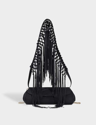Giorgio Armani Borsa fringes shoulder bag